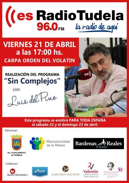 Jornada de las Verduras 2017: Luis del Pino hoy en Tudela (Navarra) en esRadio