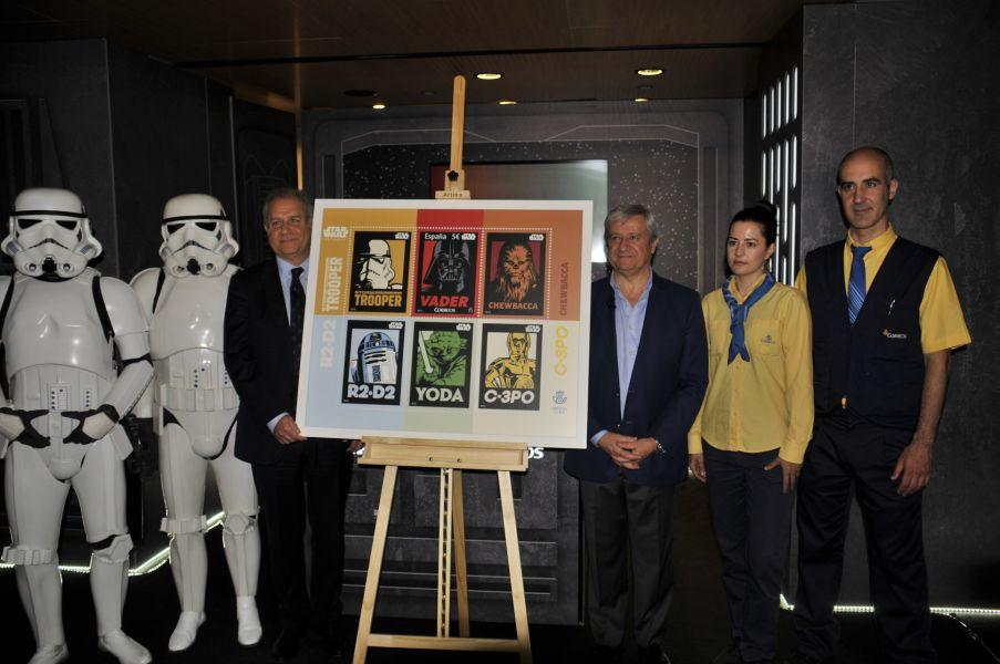 Correos conmemora el 40 aniversario de Star Wars