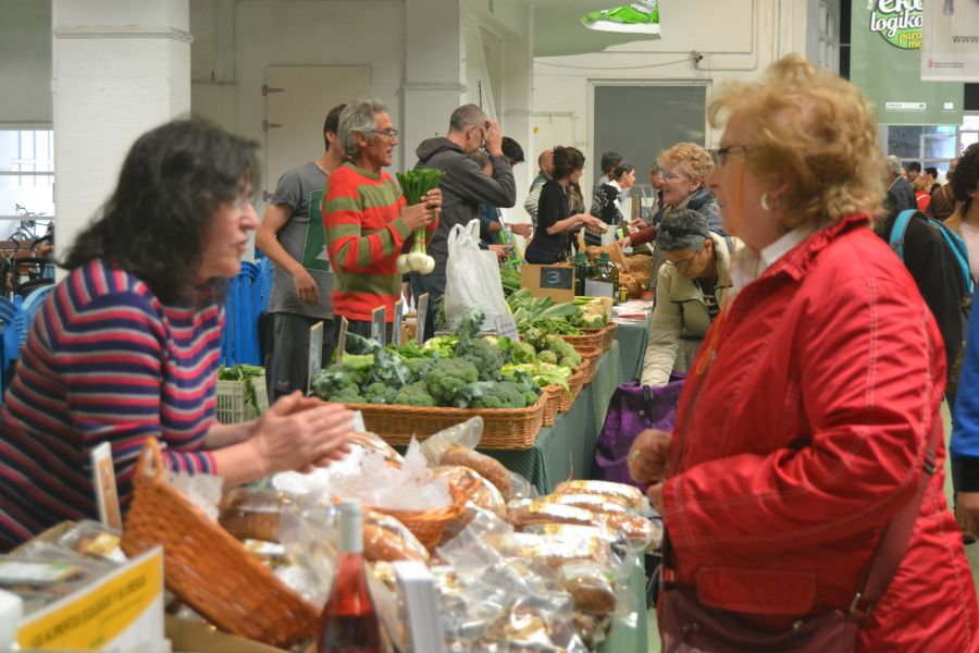 Inaugurada la II Feria Navarra Ecológica en Pamplona