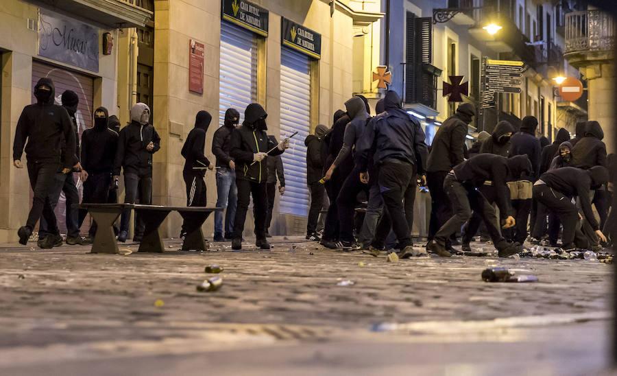 Pamplona condena los hechos provocados por la izquierda abertzale en Carnaval