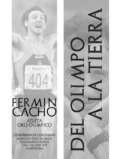 Ver más noticias de este día La Casa del Deporte acogerá este miércoles una conferencia del medallista olímpico Fermín Cacho