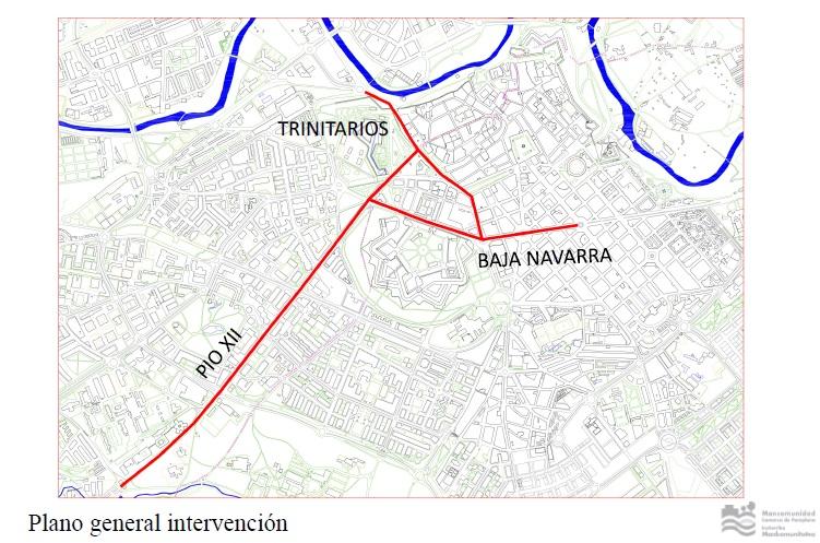 La adecuación en Ensanches y Casco Viejo para «amabilizar el Centro» serán tras San Fermín
