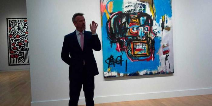 Una obra de Basquiat consigue el récord del pintor, con 110,5 millones de dólares