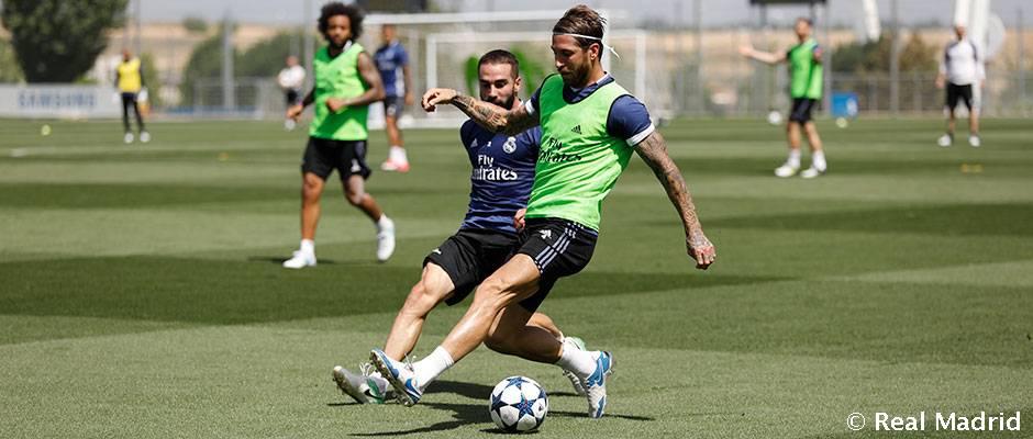 El Real Madrid comienza a preparar la final de la Supercopa de España