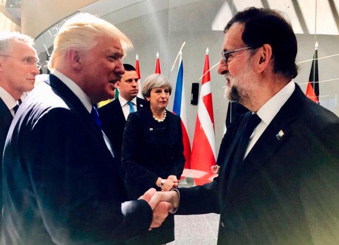 Rajoy recibirá de Trump trato de socio preferente en su visita a Washington