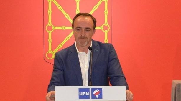 """Esparza (UPN) asegura que el Ejecutivo de Barkos """"va contra la mayoría social de esta tierra"""""""