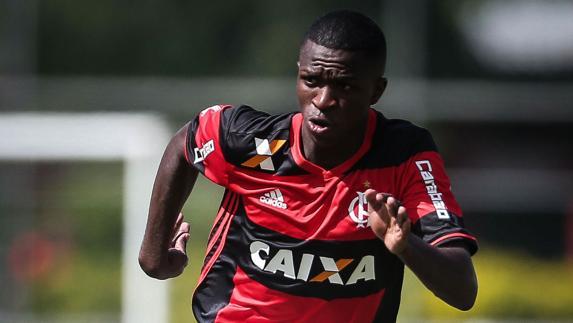 Vinicius Júnior dice que quiere incorporarse al Real Madrid a finales de 2018