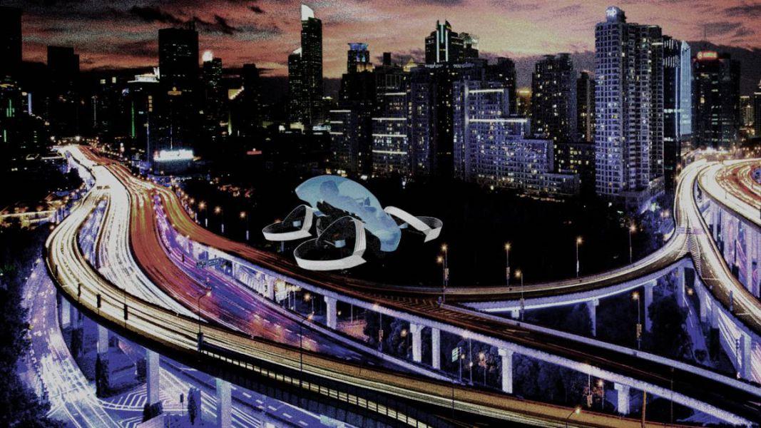 Un coche volador para encender la llama olímpica en Tokyo 2020