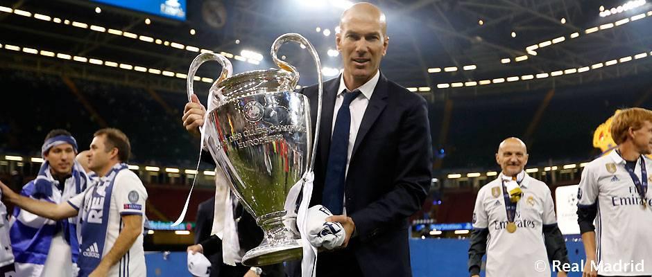 """Zidane: """"Es un día histórico para todo el madridismo"""""""