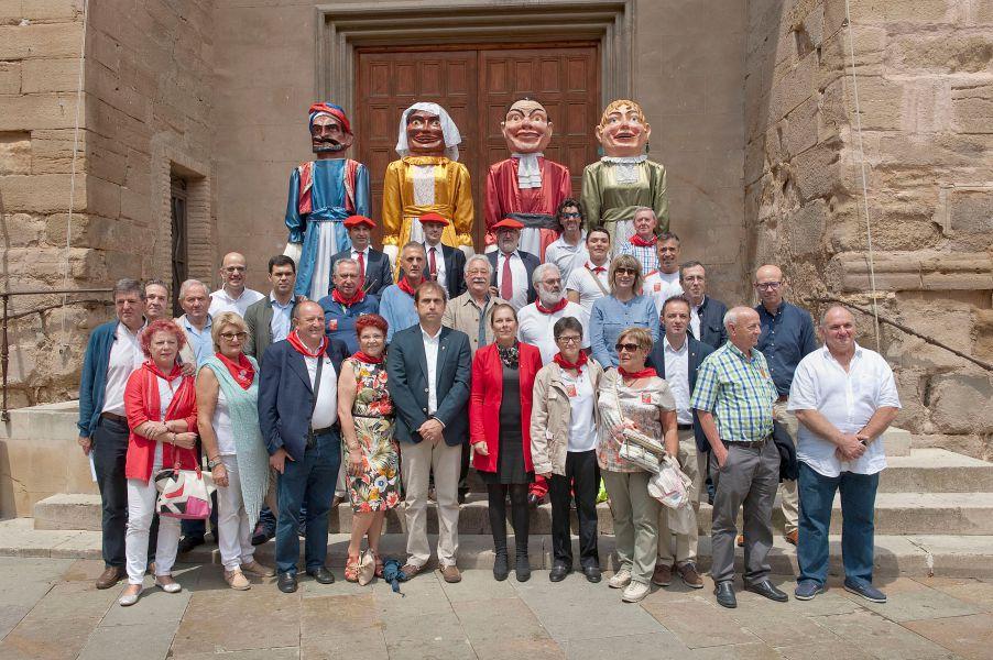 """La Presidenta Barkos llama a """"sumar en la construcción de una Navarra activa y plural"""""""