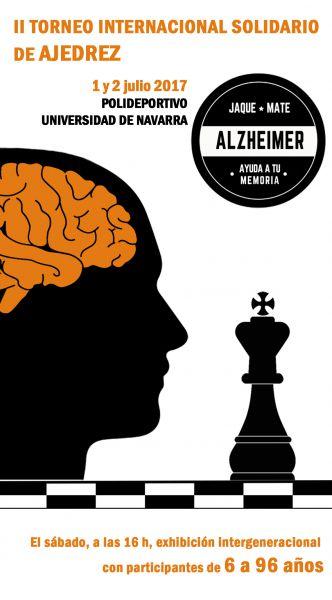 CIMA: II Torneo Internacional Solidario de Ajedrez en favor de la investigación de alzhéimer