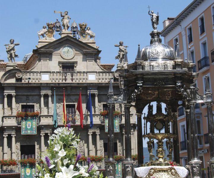 El TAN desestime un recurso de Asiron contra el apoyo al Corpus Christi en Pamplona