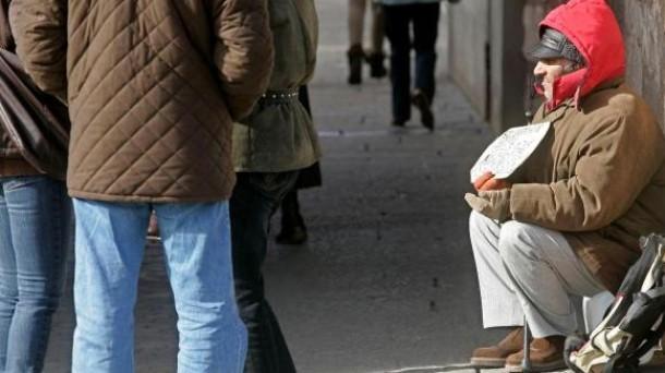 La pobreza severa siguió creciendo en el año 2015 en Navarra hasta alcanzar al 8,8% de la población