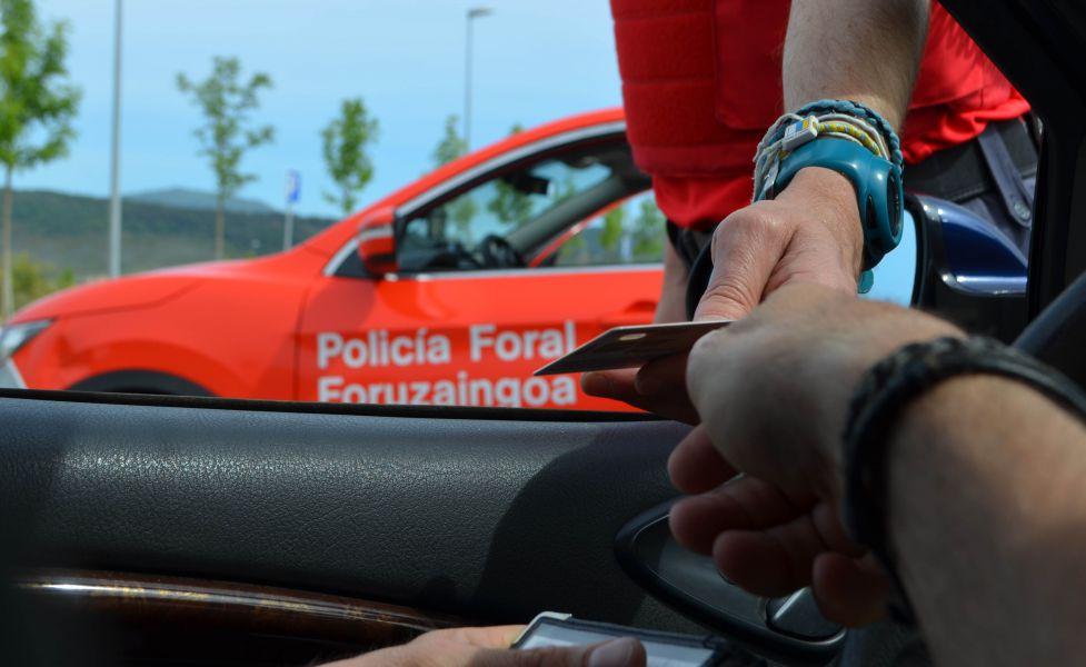 Interceptado un conductor en San Adrián que dio positivo en cinco drogas