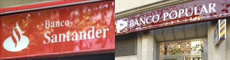 El Banco Santander compra por un euro el Banco Popular