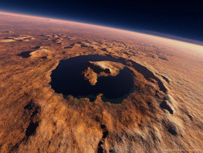 Nuevas evidencias de un lago antiguo y condiciones de habitabilidad en Marte