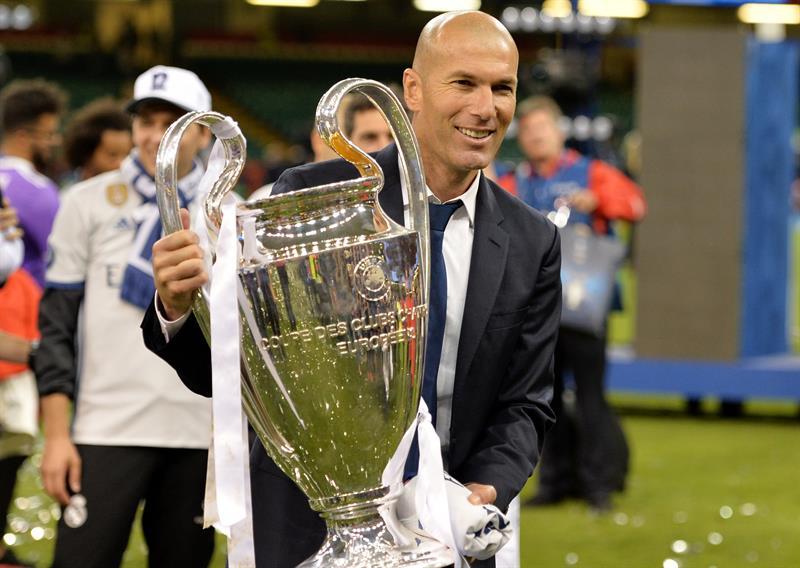 Zinedine Zidane, el entrenador con más reputación de LaLiga