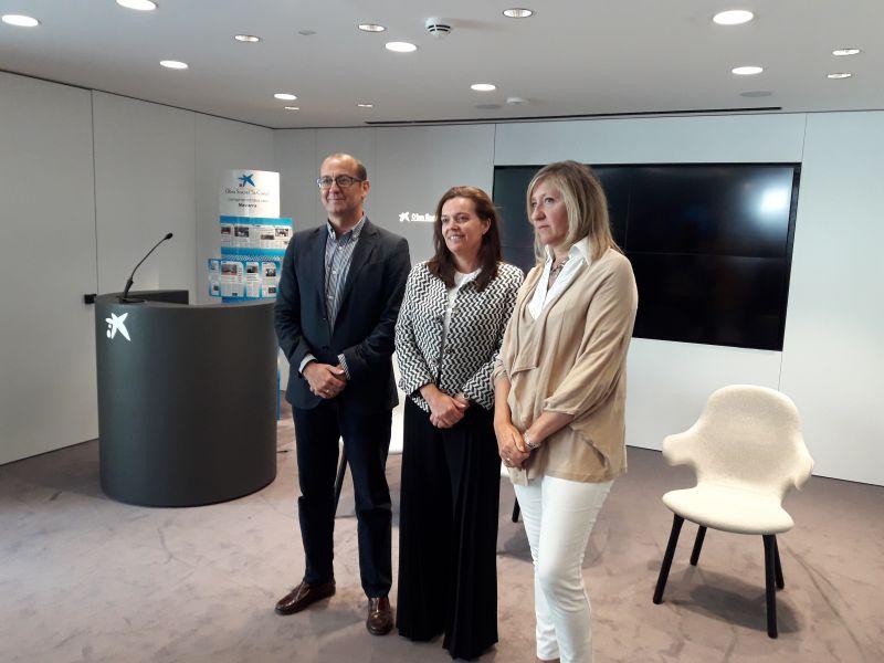 """Fundación Caja Navarra, la Obra Social """"la Caixa"""" y AMEDNA lanzan la segunda edición del proyecto Mujer Emprende"""