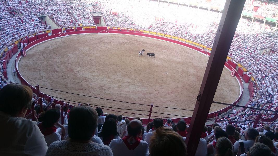 La plaza de toros de Pamplona, un espacio de fiesta con compromiso social