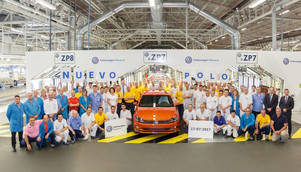 Volkswagen Navarra comienza la producción en serie del nuevo Polo
