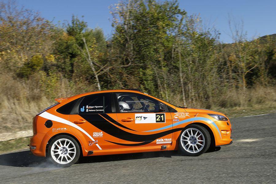 Beola busca la segunda victoria en la IV Prueba del Campeonato navarro junior Rallys de asfalto