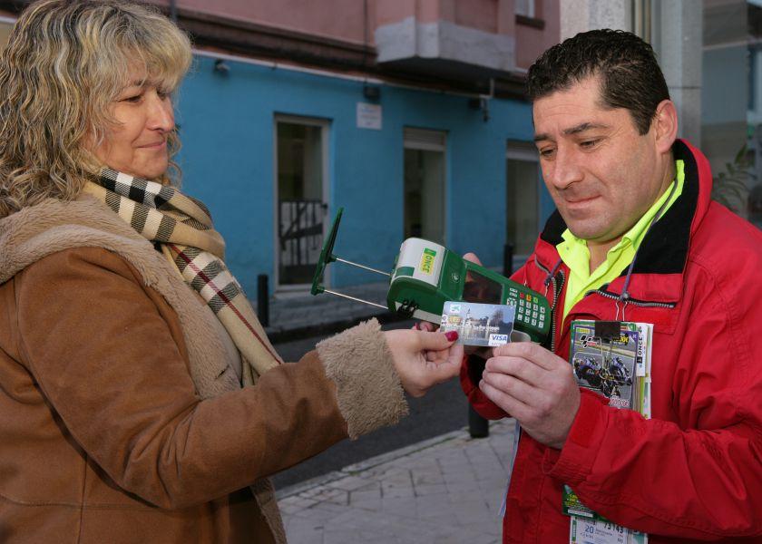 La ONCE ya puede recibir los pagos de sus clientes con tarjetas de crédito