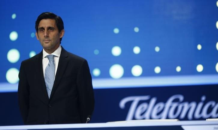 Telefónica gana un 7,4 % más hasta marzo y reduce su deuda un 9,8 por ciento