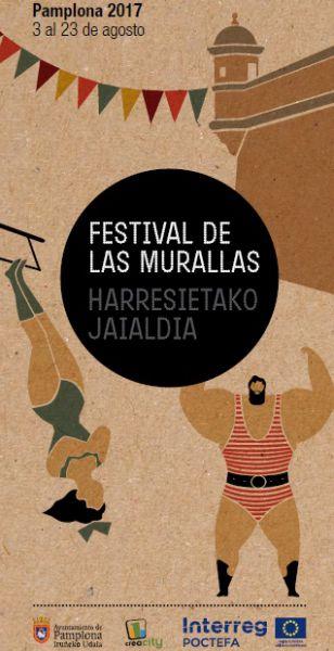 AGENDA: 3 a 23 de agosto, en Murallas de Ciudadela de Pamplona, Festival de las Murallas