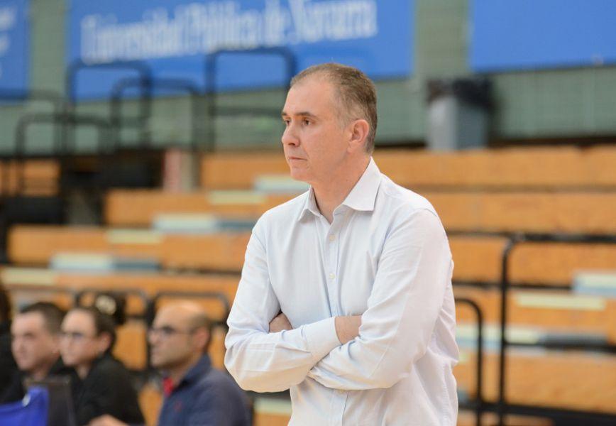 Joaquín Prado deja de entrenar al Basket Navarra