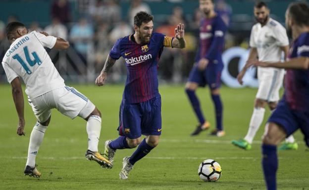 3-2: El Barcelona gana el clásico de Miami en un duelo emocionante e inusual