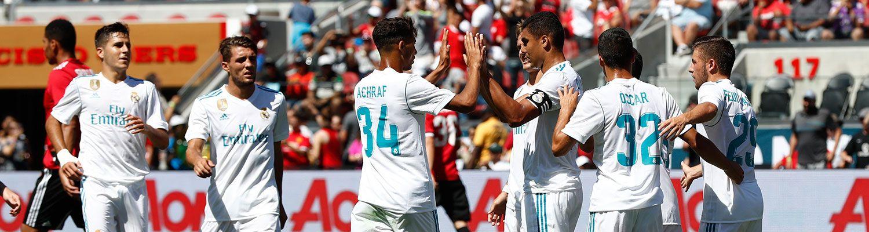 El Real Madrid examina en Dormund su falta de gol