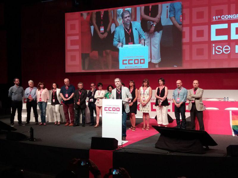 Unai Sordo (CCOO) urge a acabar con un modelo laboral injusto y segregador