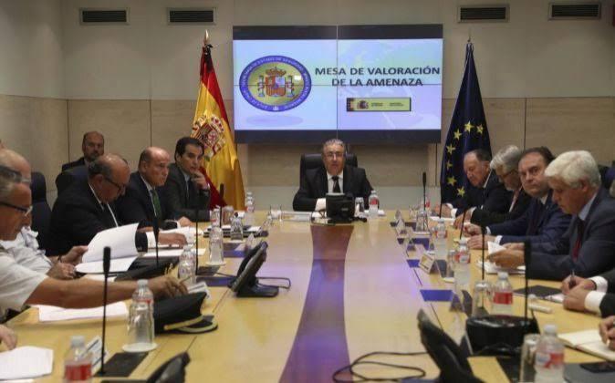 Se mantiene el nivel 4 de alerta antiterrorista tras una nueva reunión de la mesa