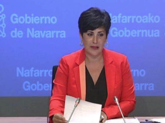 Solana dice que el Presupuesto de Navarra no estará listo antes de finalizar octubre