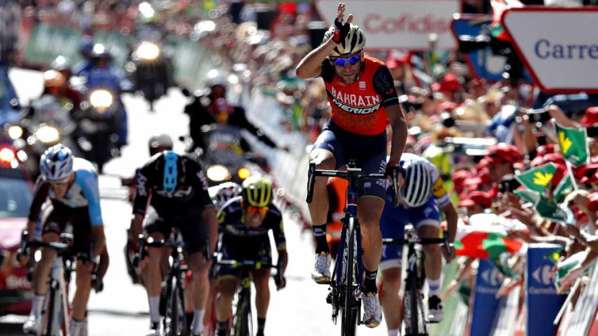 Nibali pega primero en la montaña, Froome nuevo líder