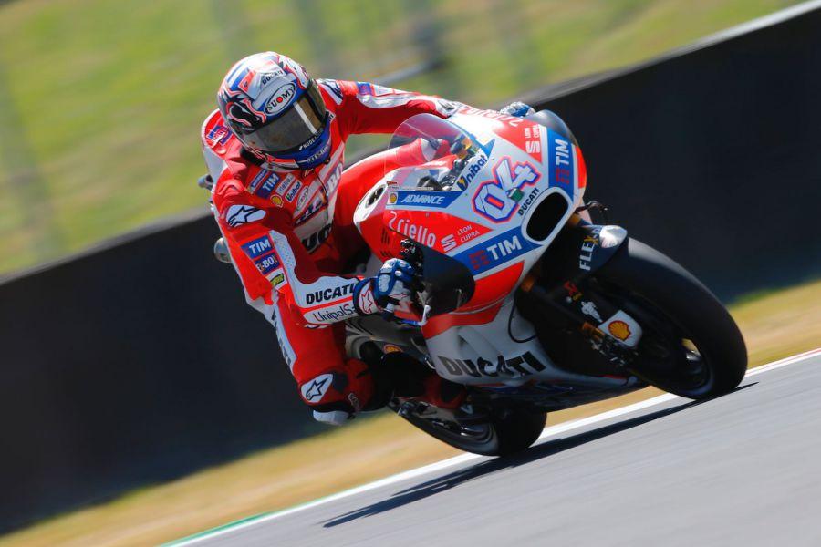 Dovizioso reclama la hegemonía de Ducati en la última vuelta