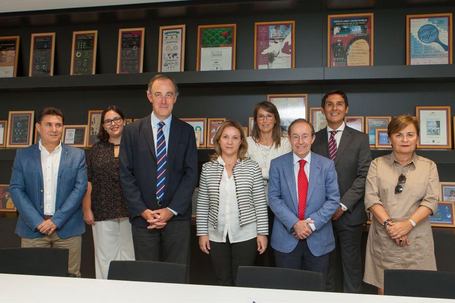 La Universidad de Navarra e Innomedyx firman un convenio de prácticas para estudiantes de Ciencias