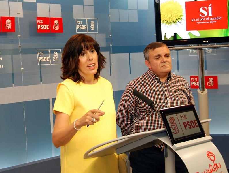 PSN en Pamplona critica las contradicciones del cuatripartito con Salesianos