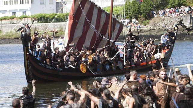 La 57ª Romería Vikinga vuelve a recrear la invasión de los guerreros vikingos