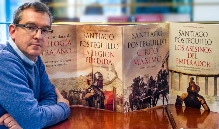 Posteguillo vuelve a las librerías con una peculiar clase de literatura