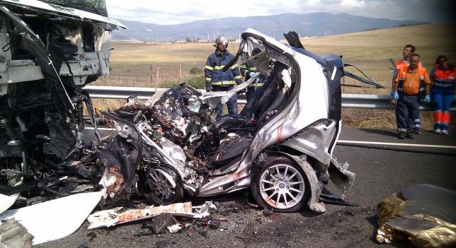 1.200 fallecidos en carretera en 2017, el peor dato en cinco años