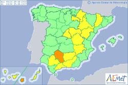 Alerta en 16 provincias por calor, alerta naranja en Gran Canarias y Córdoba