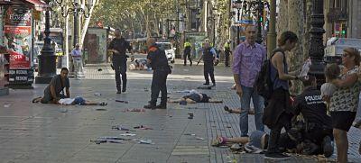 El segundo ataque yihadista en España deja en Barcelona 13 muertos y 80 heridos