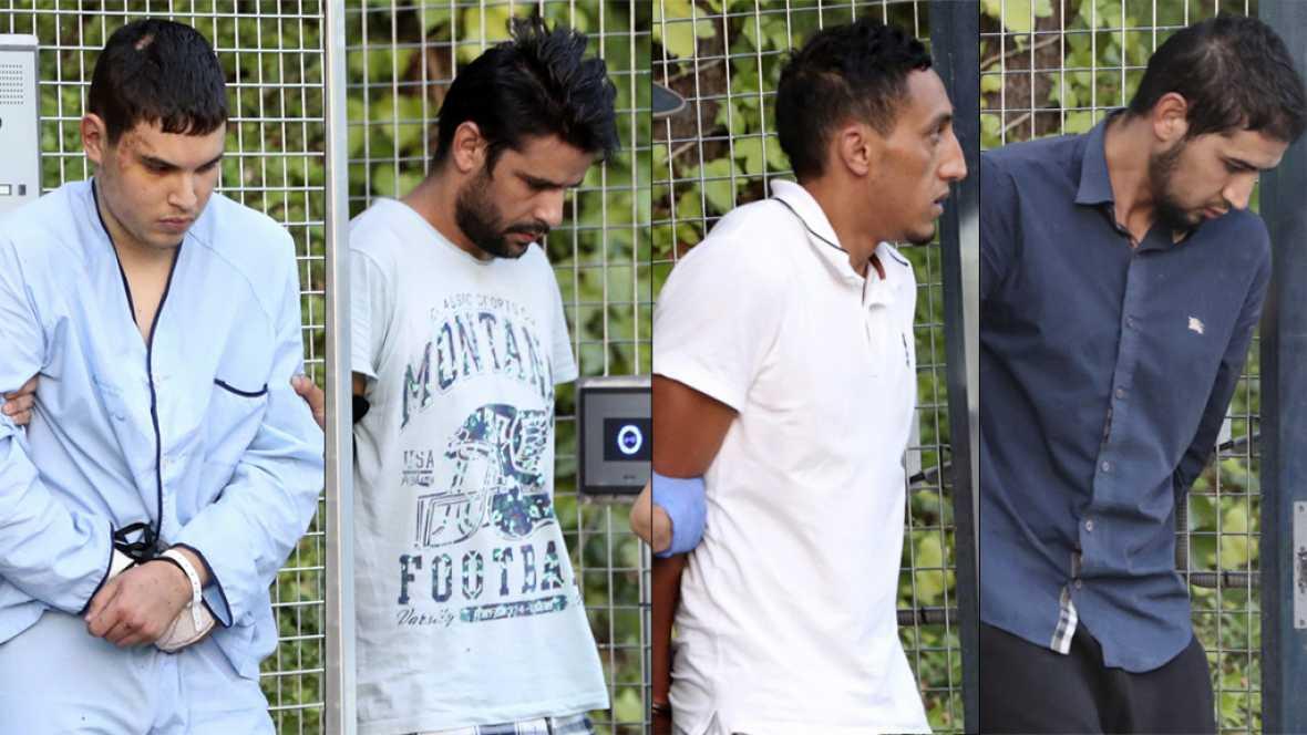 El juez envía a prisión a dos de los cuatro detenidos por los atentados de Cataluña