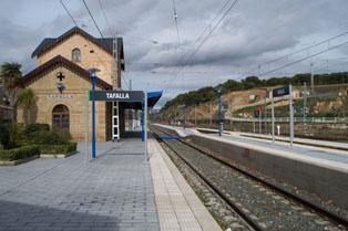 Adif realizará mejoras en nueve estaciones de tren de Navarra