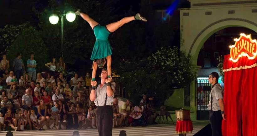 Cuatro espectáculos en cinco localidades para el Festival de Circo de Navarra
