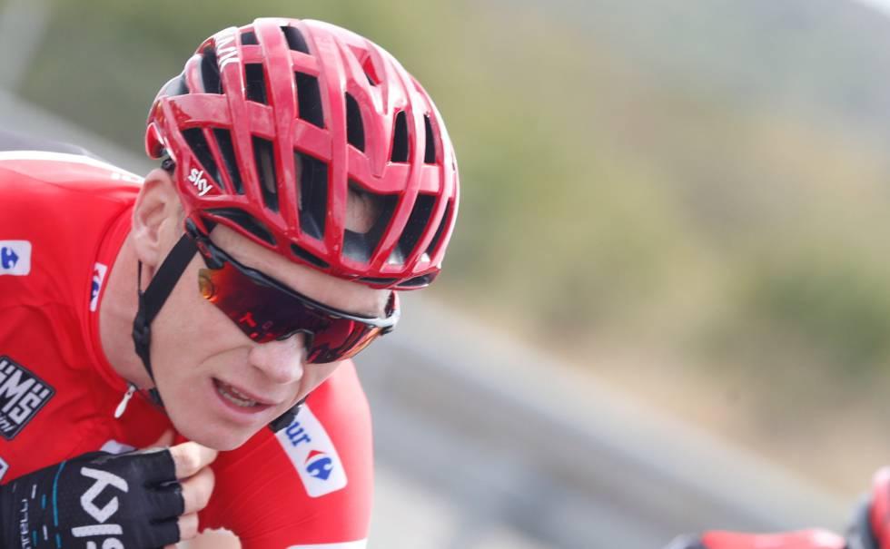 Un reloj y dos montañas decidirán la Vuelta, que domina Froome