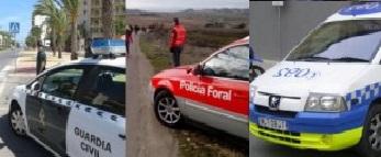 Cuerpos de policía de Navarra se coordinan para vigilar tráfico en Navidades