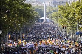 Presencia navarra en Barcelona en la marcha contra el terrorismo yihadista