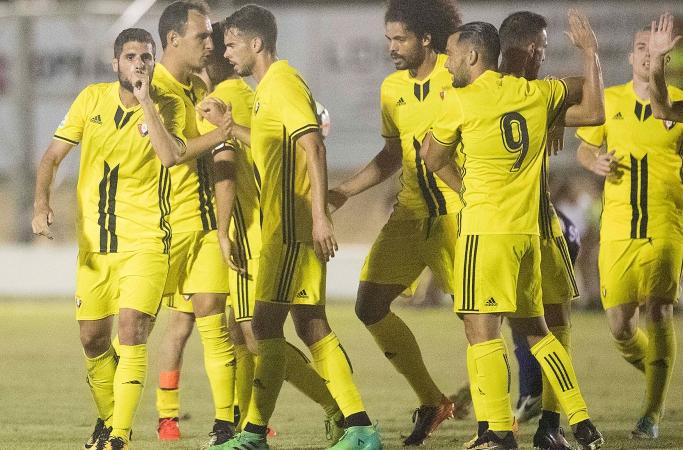 1-3: Osasuna remonta ante la S. D. Huesca en el tercer partido de pretemporada